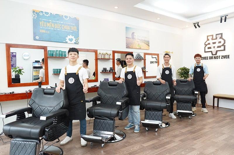 2Vee Hair Station