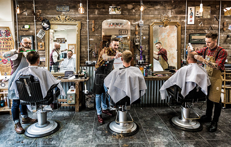 What's difference between barber shop and Salon in Viet Nam?