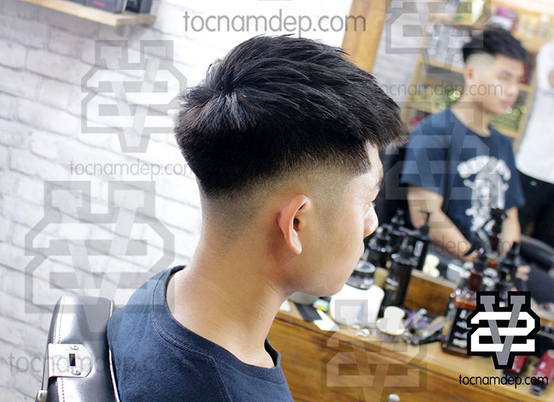 Some Hot Men's HairCuts from Barber Shop in Viet Nam