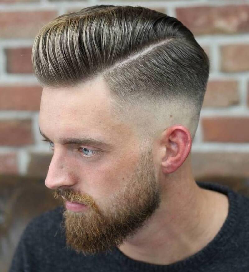 kiểu tóc nam đẹp pompadour