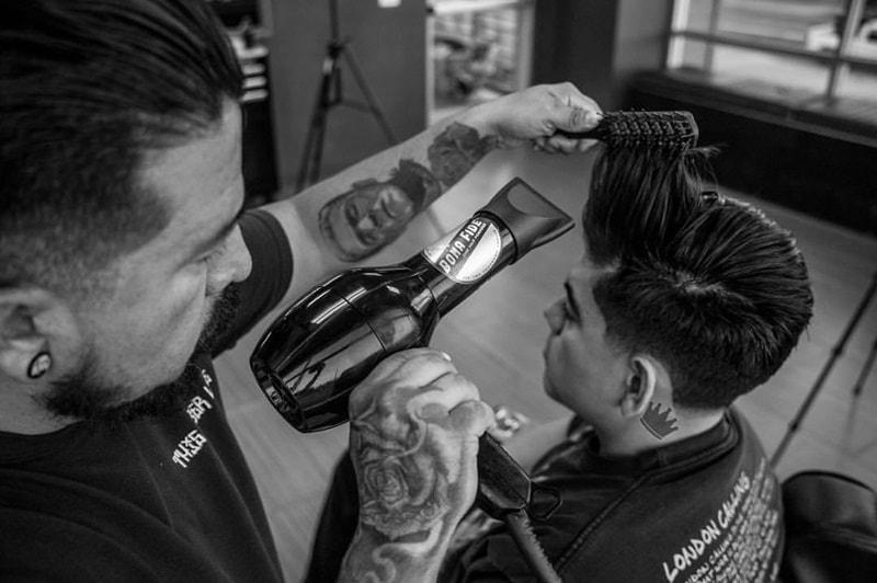 Cách uốn tóc nam tại nhà
