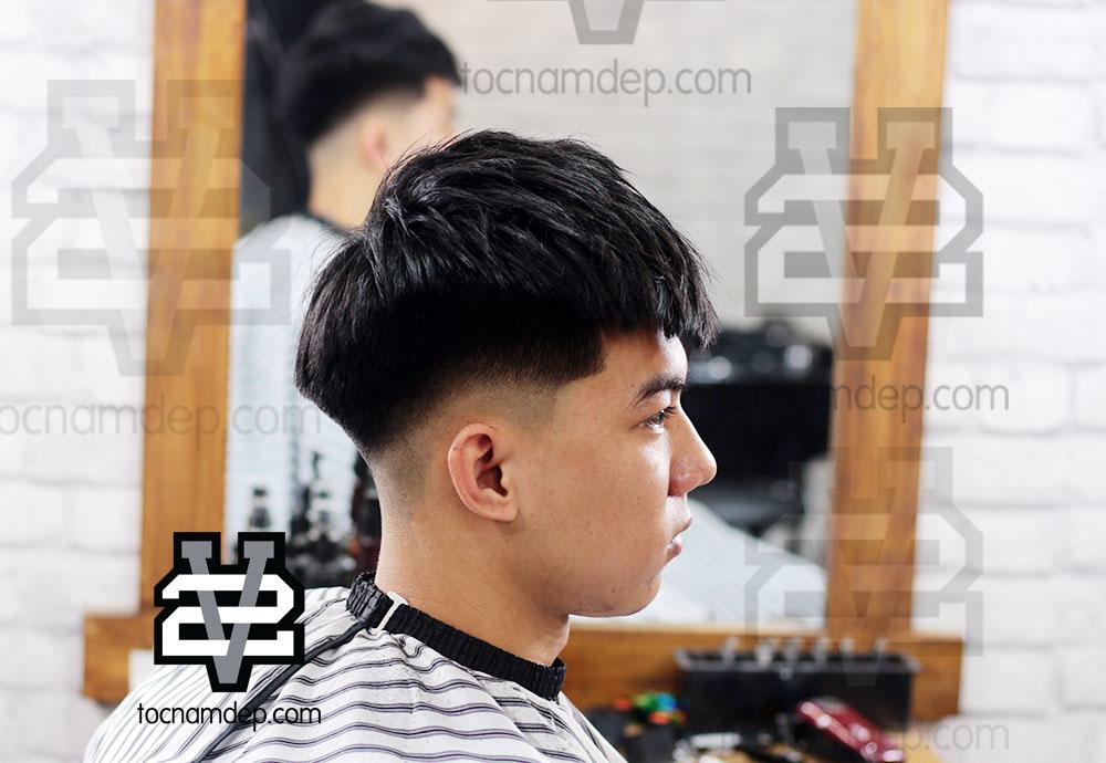 cắt tóc nam đẹp ở Vinh