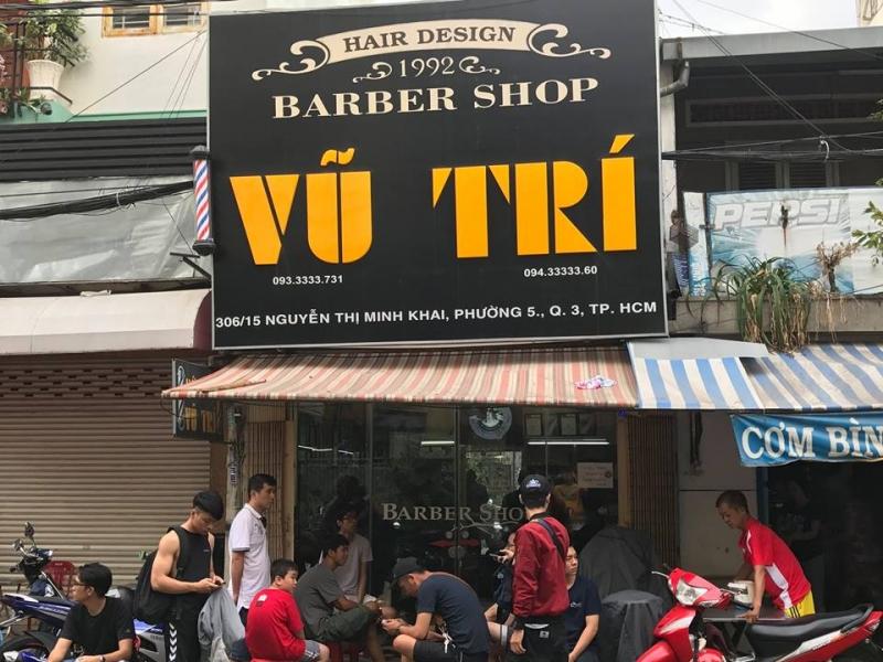 Tiệm Barber Shop Vũ Trí