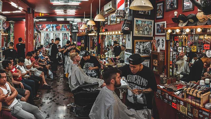 Tiệm cắt tóc Liêm Barber