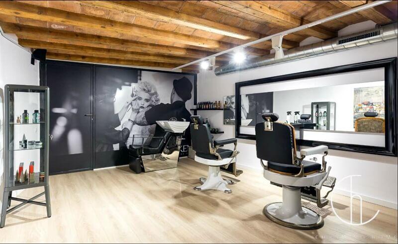 Tiệm cắt Tóc Ngắn