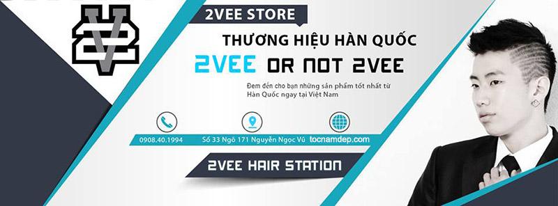 Shop 2Vee Hair Station – Tóc Nam Đẹp