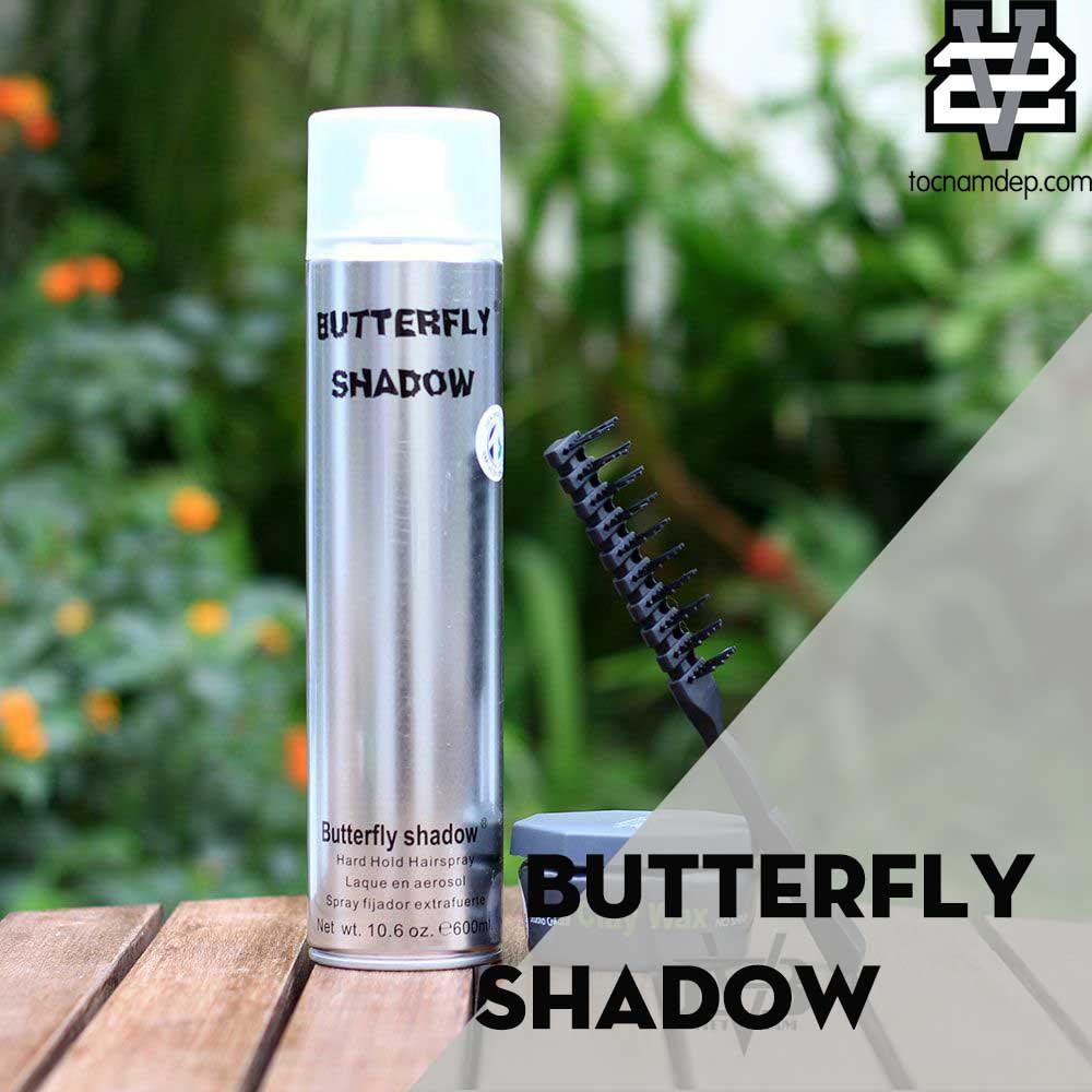 Gôm xịt tóc Butterfly Shadow