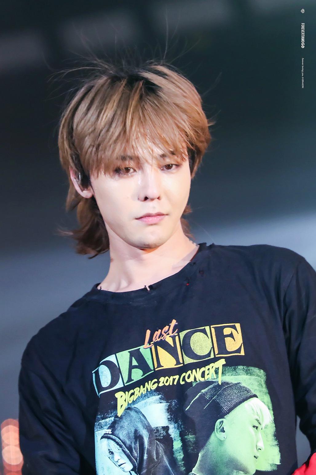 Kiểu tóc G-Dragon Mullet