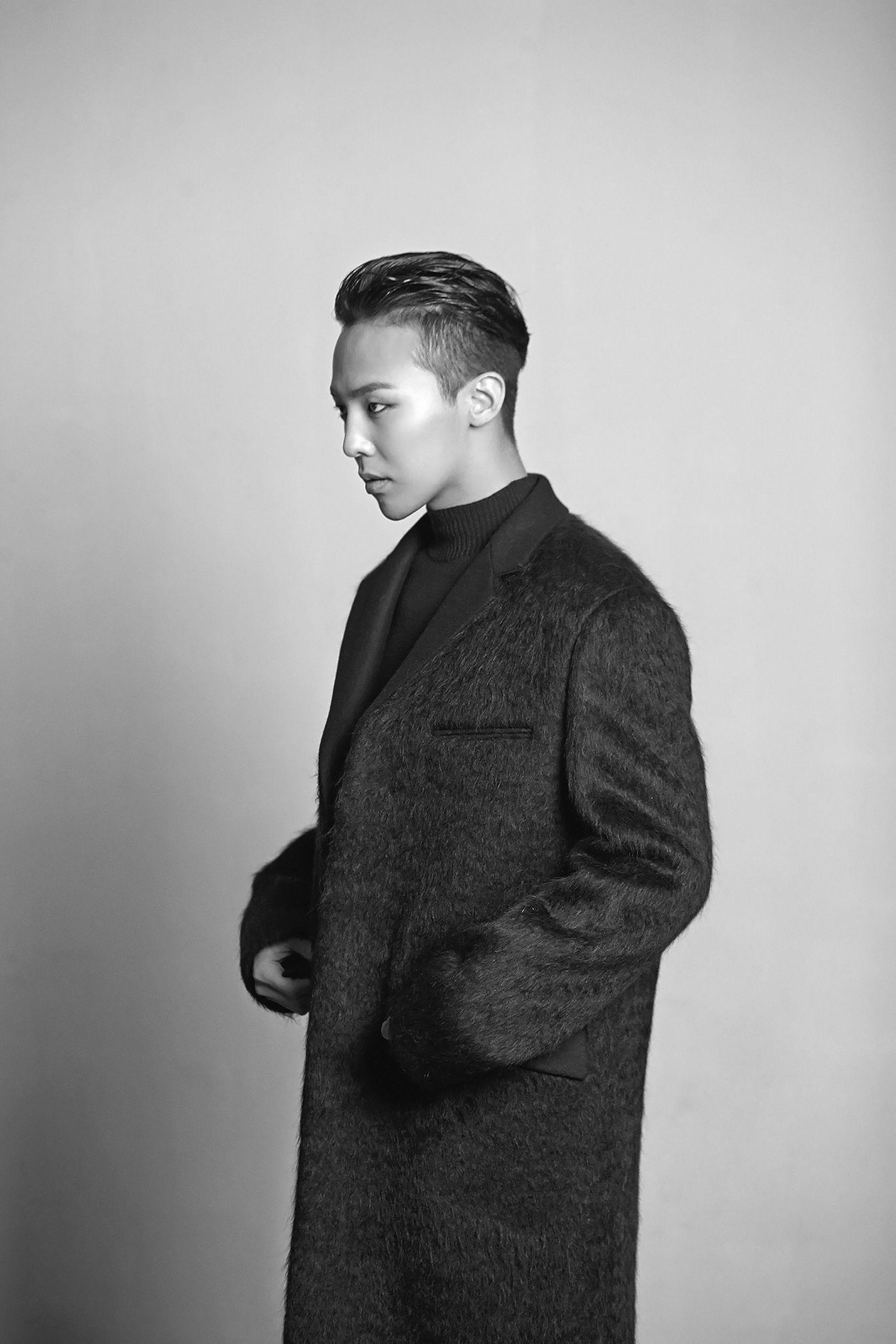 Kiểu tóc G-Dragon Slcik back Undercut