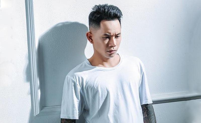 Kiểu tóc Lê Bảo Bình Undercut Side Part