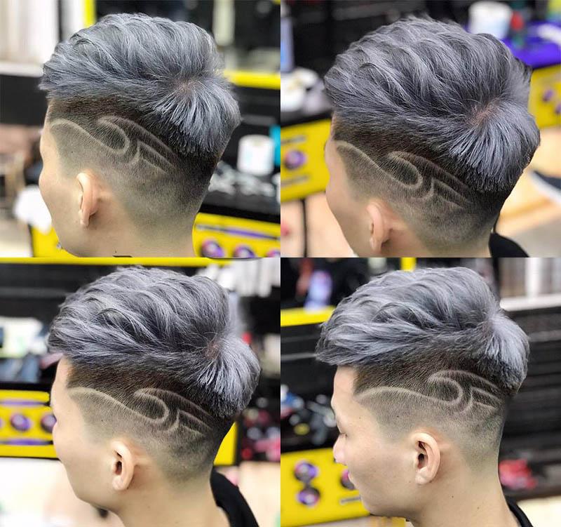 Kiểu tóc Mohican Tattoo
