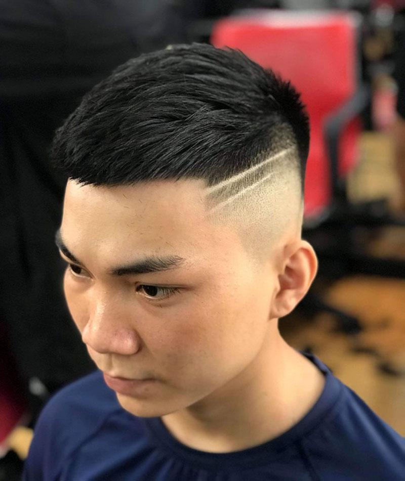 Kiểu tóc Mohican kẻ đẹp