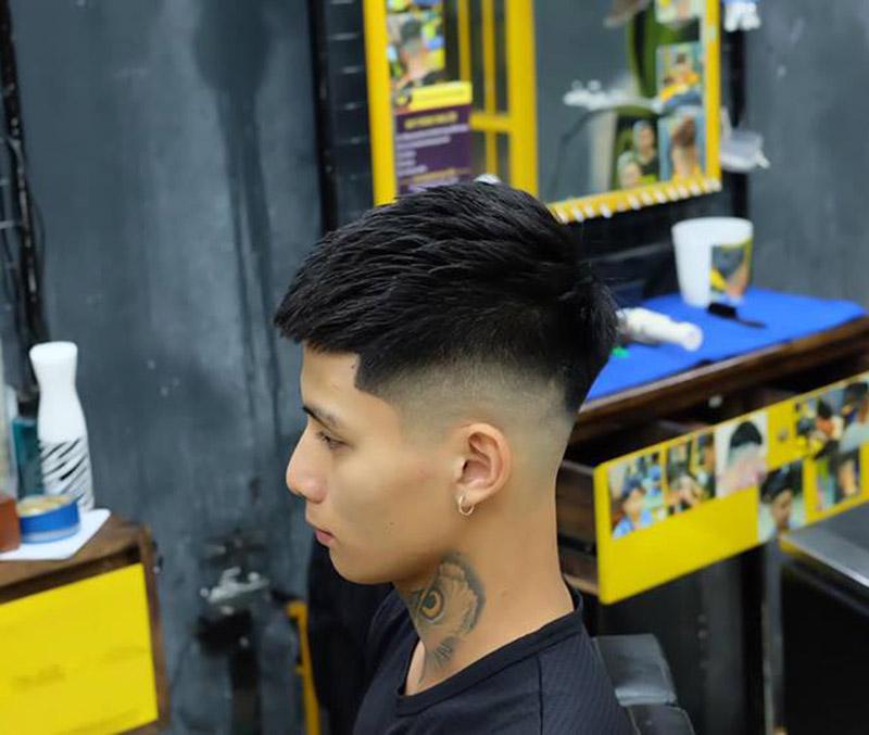 Kiểu tóc Mohican Phong BVB