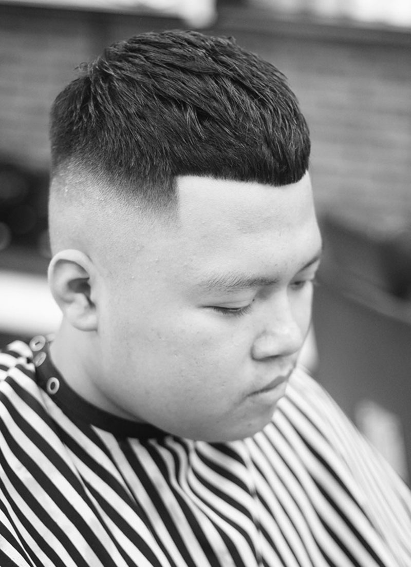 Kiểu tóc Mohican mái cụt