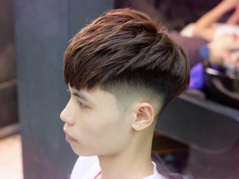 Kiểu tóc Mohican Layer