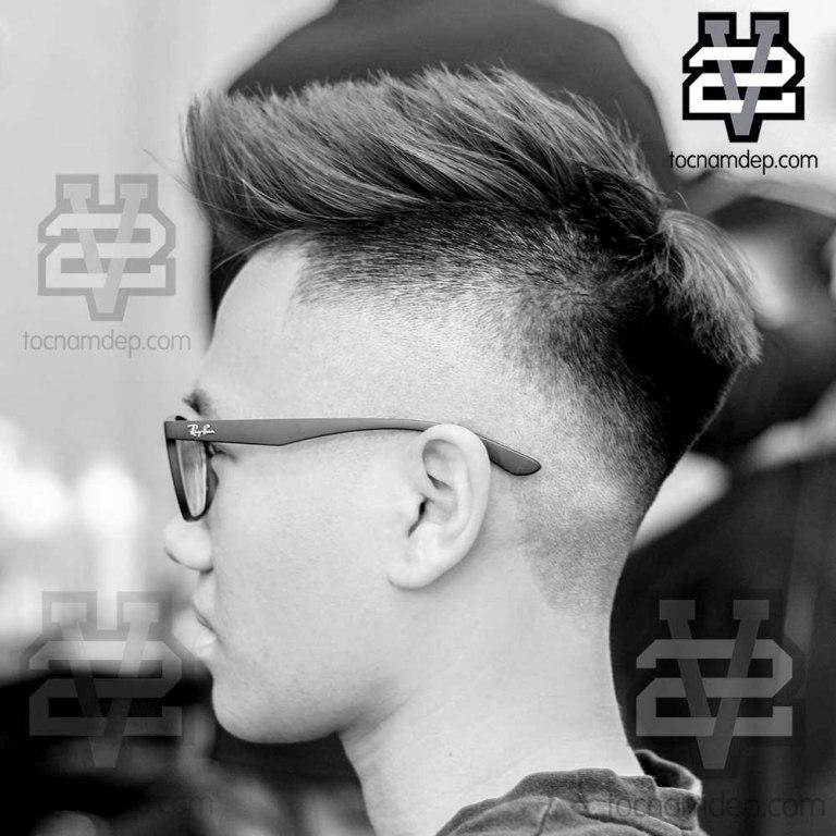 kiểu tóc nam Mohican 2019