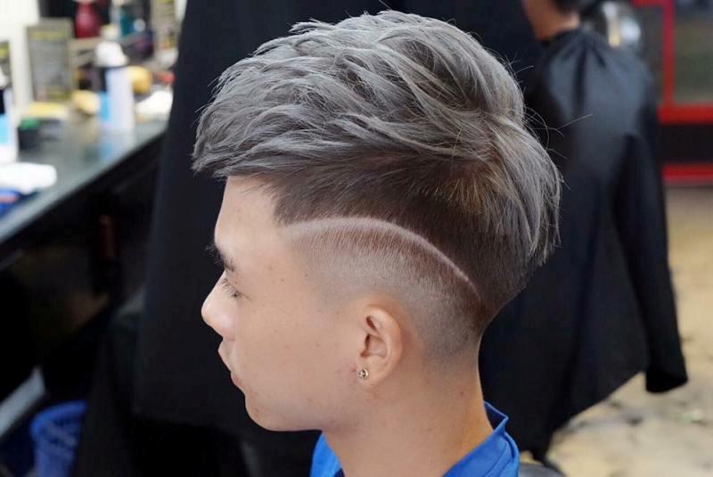 Kiểu tóc Mohican màu khói