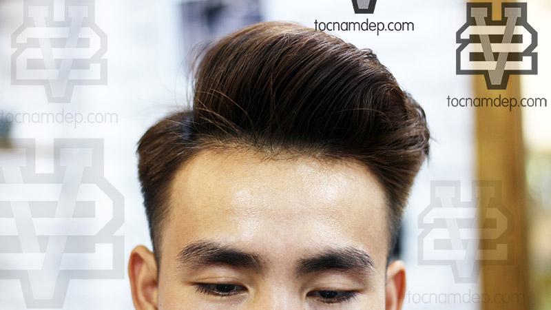 các kiểu tóc nam uốn phồng