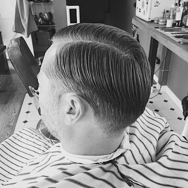 kiểu tóc Side Part 2019