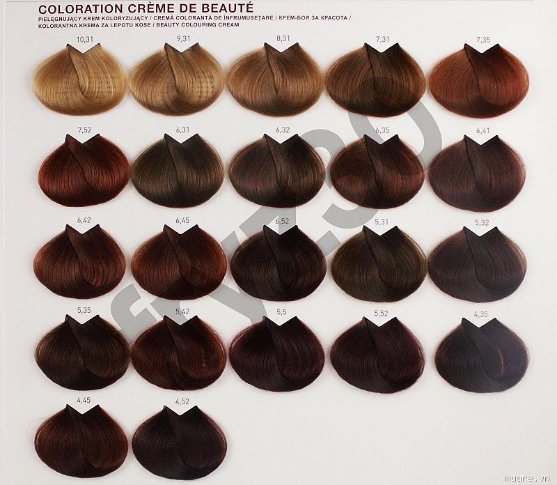 Màu tóc giúp sáng da cho nam