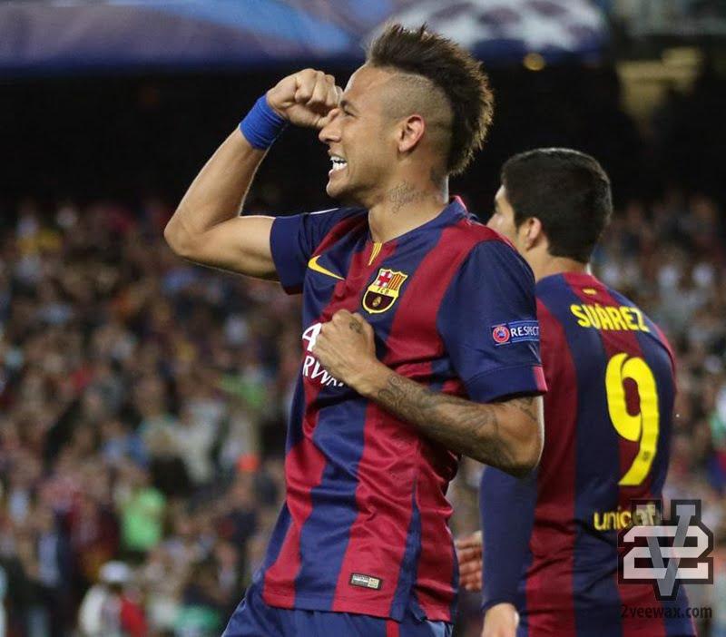 tóc nam đẹp theo cầu thủ neymar