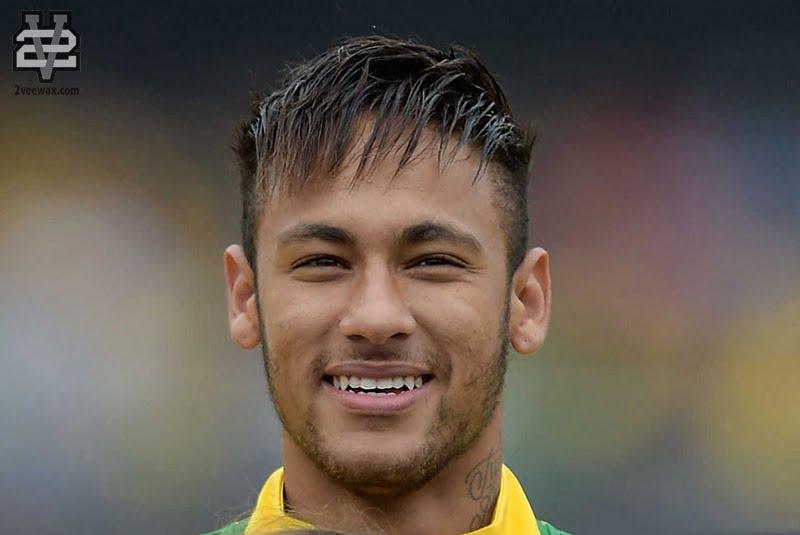 kiểu tóc nam Neymar Jr.