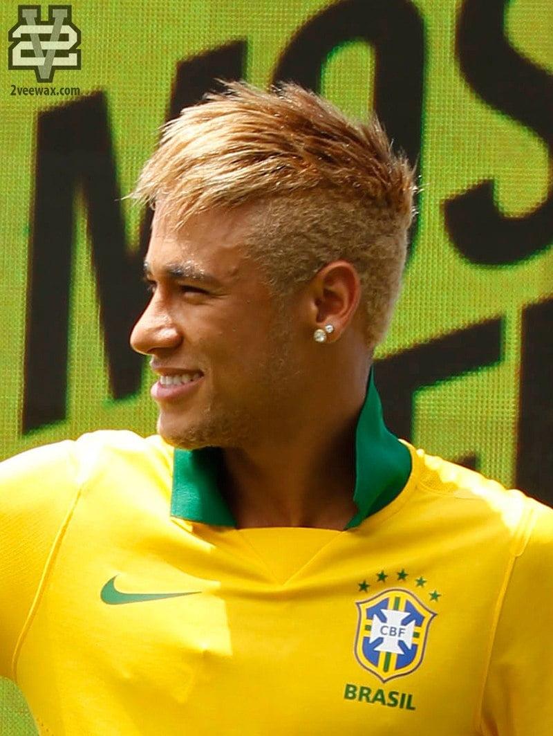 kiểu tóc Textured Mohawk của Neymar Jr.