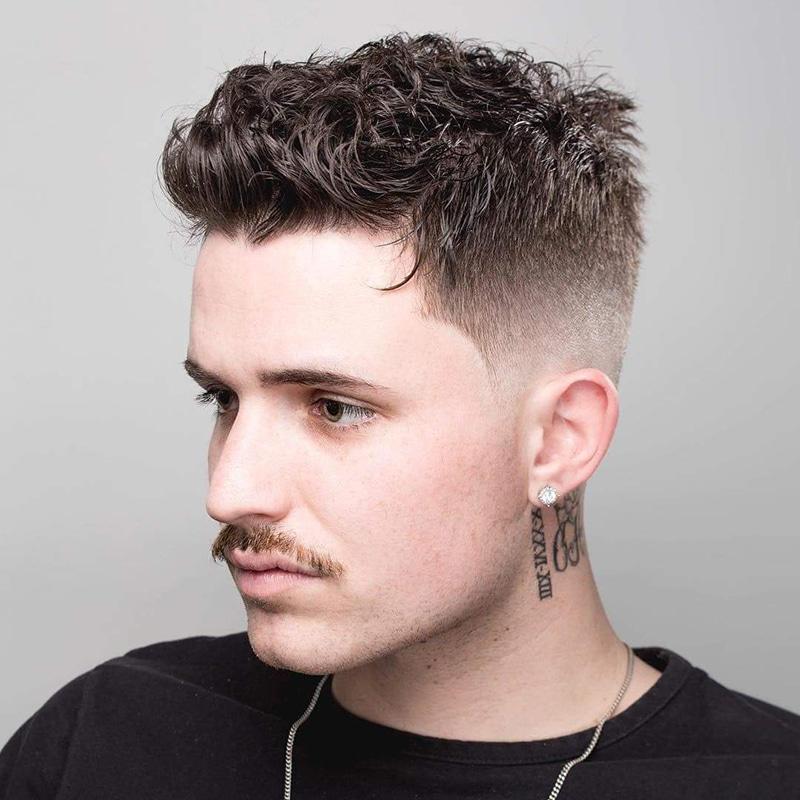 Những kiểu tóc uốn nam đẹp