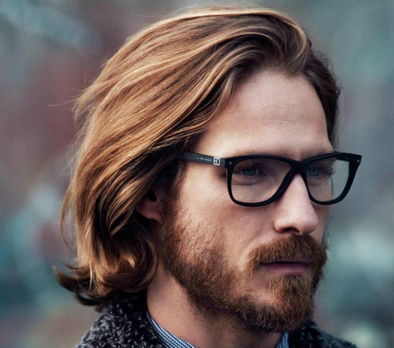 Kiểu tóc nam dài ngang vai