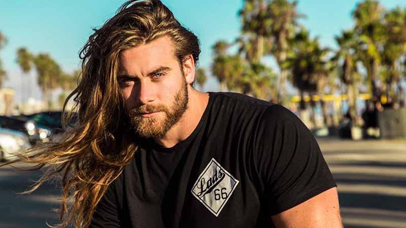 Kiểu tóc dài cho nam