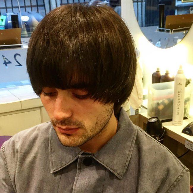 Kiểu tóc Đầu Nấm dài xu hướng cổ điển