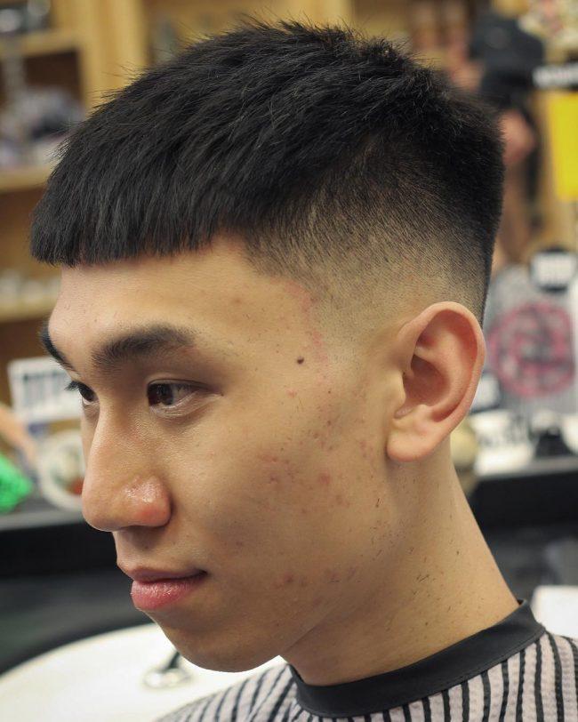 Một số kiểu tóc nam phong cách Đầu Nấm đẹp khác