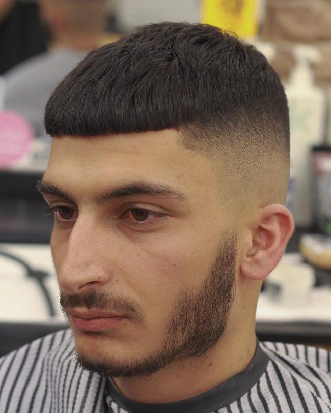 Kiểu tóc đầu nấm nam