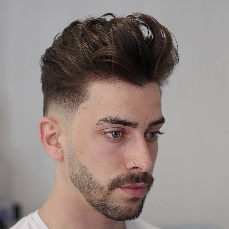 Khám phá] Kiểu tóc Layer nam mặt vuông phù hợp với chàng