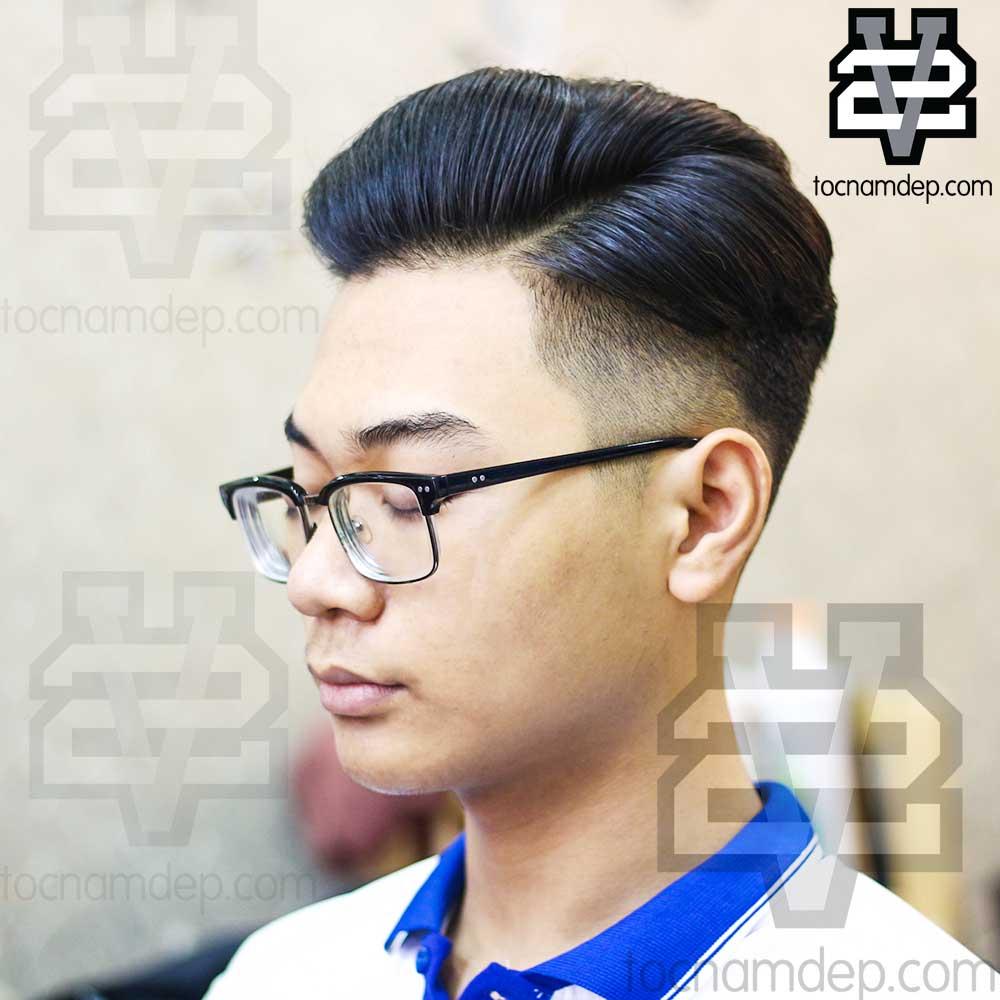 Kiểu tóc Side Part 7/3 2019