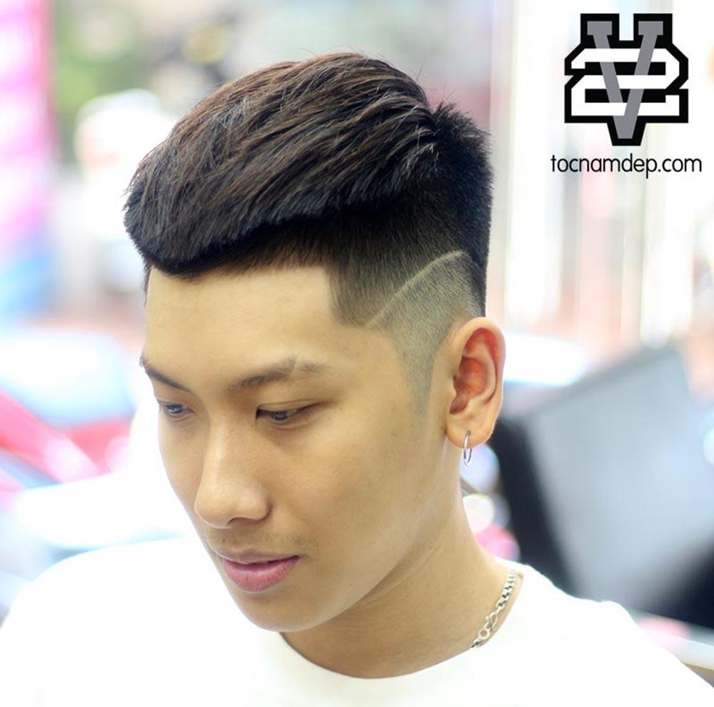 Kiểu tóc Mohican2019