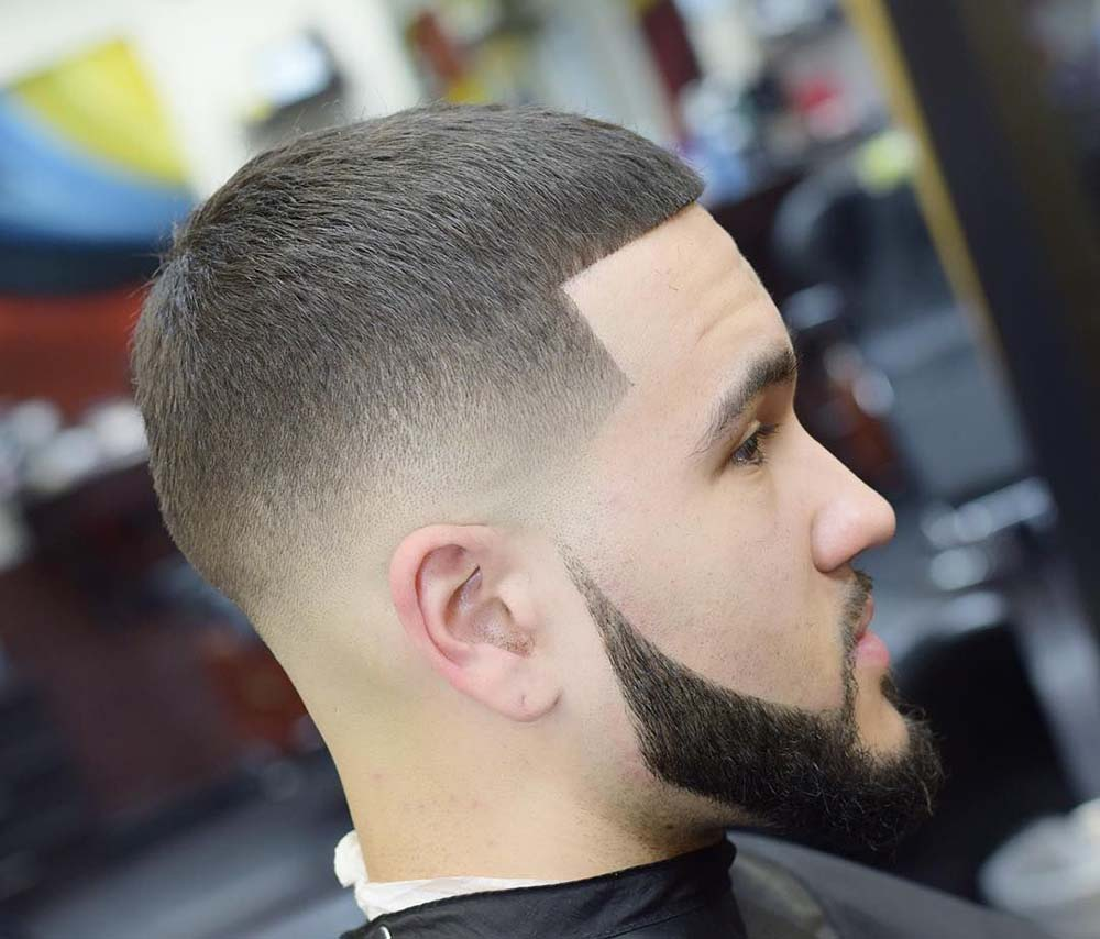 kiểu tóc nam đầu đinh (buzz cut)