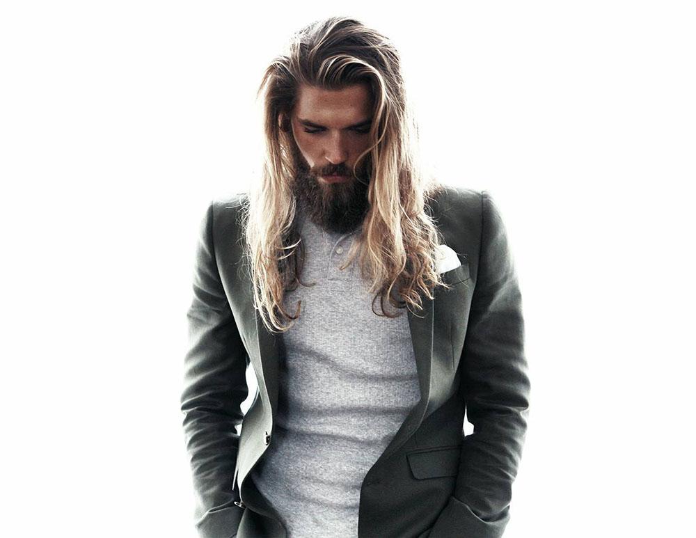 Kiểu tóc nam dài khác