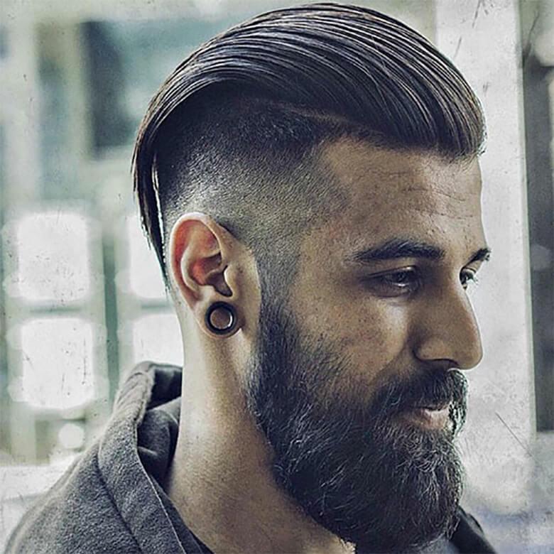 Kiểu tóc Slicked Back hiện đại