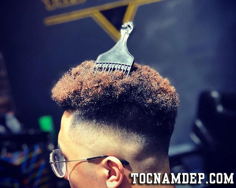 Kiểu tóc nam Uốn xoăn tít Premlock