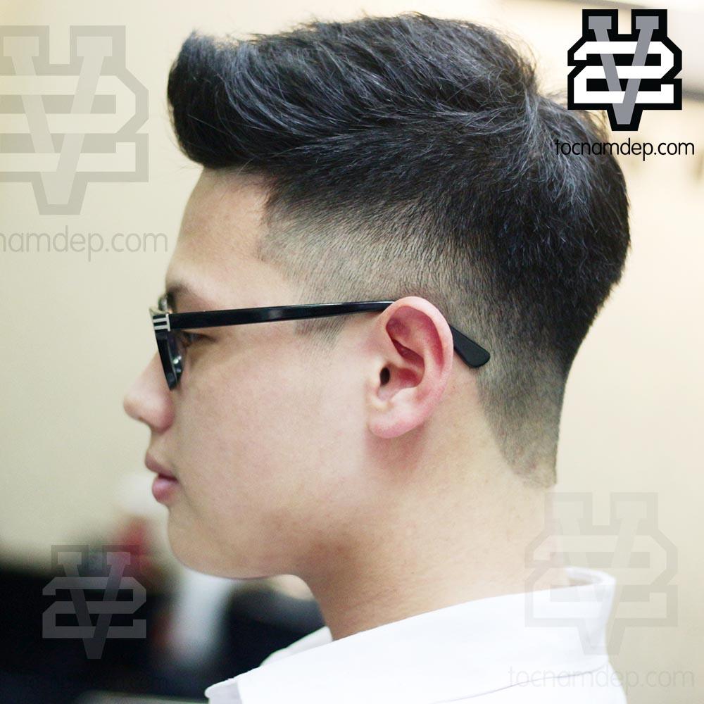 Kiểu tóc nam Undercutvuốt dựng 2019