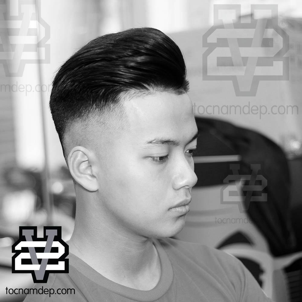 Kiểu tóc Pompadour 2019