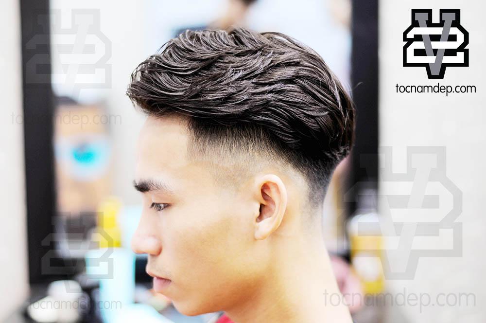 Kiểu tóc Xoăn nam đẹp 2019