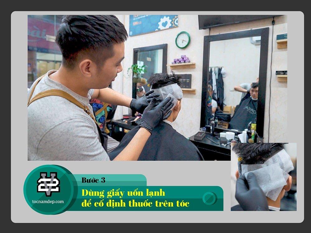 dịch vụ ép side tóc mai nam
