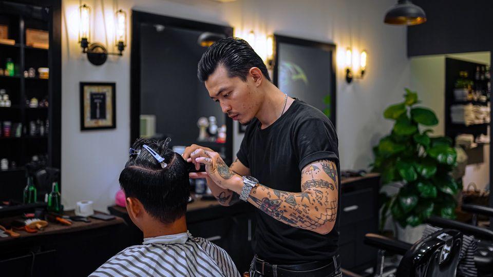 cắt tóc tony barber house