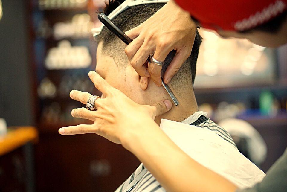 cắt tóc nam Tony barber