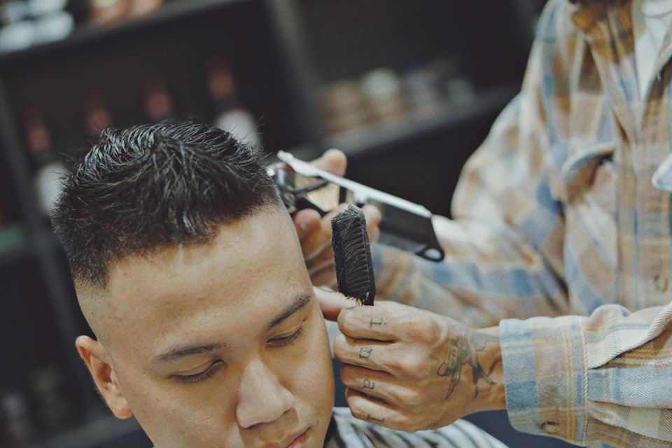 cắt tóc nam Tony barber house