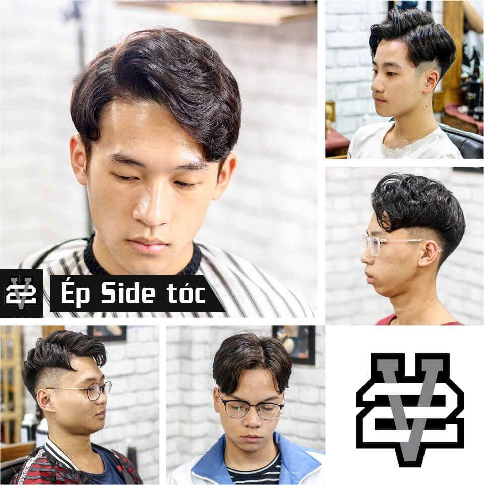 Ép side tóc nam