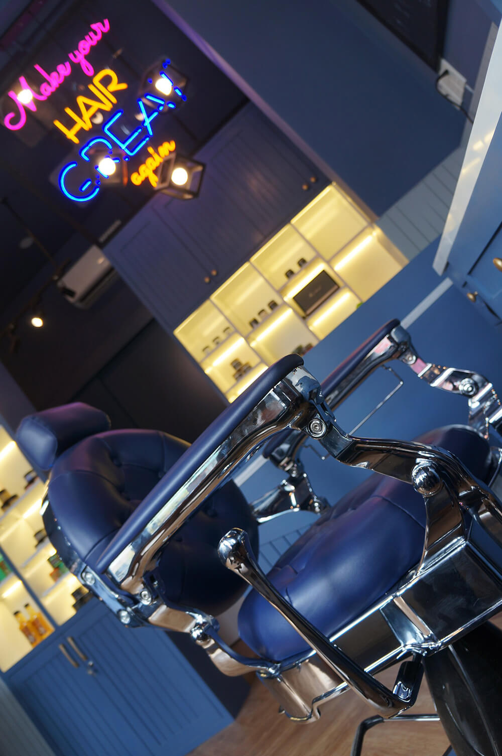 HẺM barber shop Quận Tân Phú - Tp.HCM